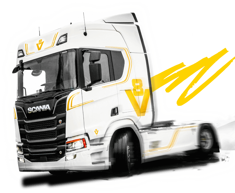 Ciężarówka Miss Scania